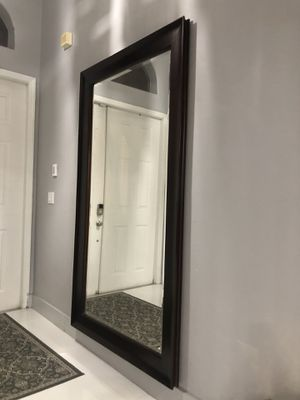 Wall Mirror. 7ft x 3'10 for Sale in Miami, FL