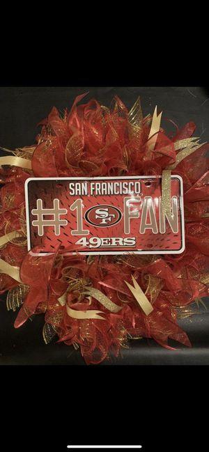 San Francisco 49ers Wreath for Sale in Avondale, AZ