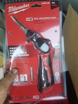 Milwaukee soldering iron for Sale in CA, US