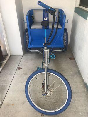 Tipke pedal cab better than bike trailer for kids for Sale in Dunedin, FL