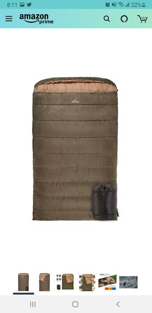 Camping full size 0 degree sleeping bag. for Sale in Queens, NY