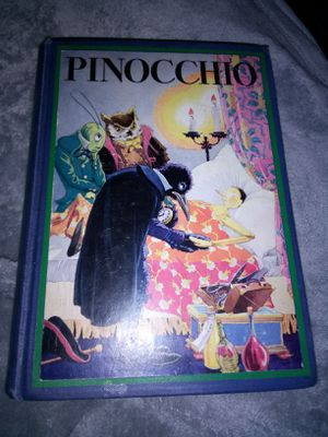 Copyright 1932 Pinocchio Rare Hard Cover for Sale in Owego, NY