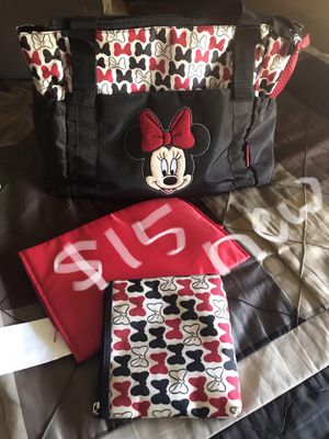 Minnie Mouse diaper bag for Sale in Terrell, TX