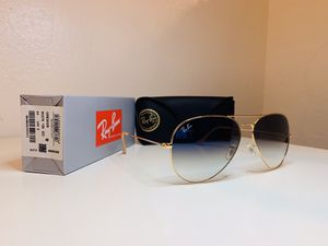 New Ray-Ban Aviator Oversize Size 62mm for Sale in La Puente, CA