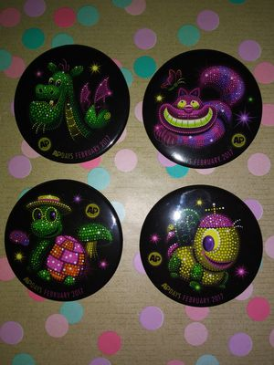 Disney Parks 2017 Electical Parade Annual Pass Buttons for Sale in Anaheim, CA