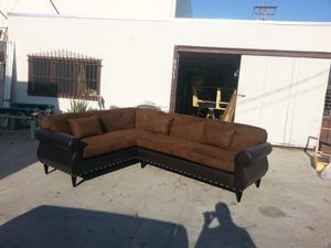 NEW 7X9FT CHOCOLATE MICROFIBER COMBO SECTIONAL COUCHES for Sale in LA CANADA FLT, CA