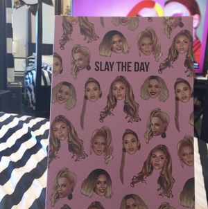 """Beyoncé """"Slay the Day"""" Notebook for Sale in St. Louis, MO"""