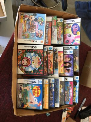 DVDS/Wii/Xbox/DS/3DS Games for Sale in Pismo Beach, CA