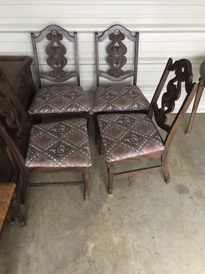 4 antique chairs for Sale in Nashville, TN