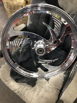 21x2.15 riptide front motorcycle wheel for Sale in West Springfield, VA