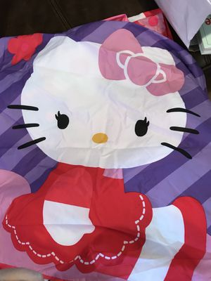 Hello kitty twin sheets for Sale in Taunton, MA
