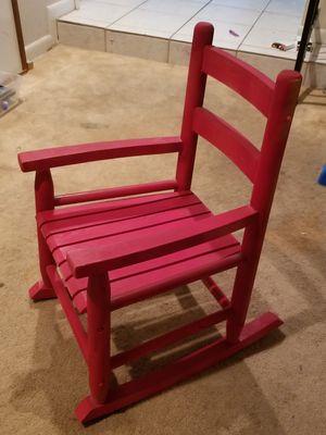 Kids rocking chair for Sale in Orlando, FL