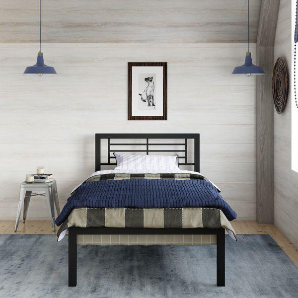 YourZone Kids' Metal Bed BedFrame