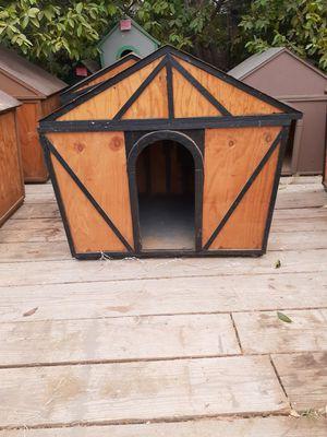 medium black size dog house for Sale in Corona, CA