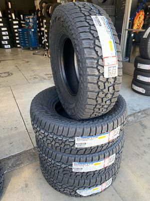 265/75/16 New set of Falken AT tires installed for Sale in Rancho Cucamonga, CA
