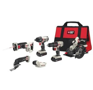 PORTER CABLE 6-Tool 20-Volt Max Power Tool Combo for Sale in Cypress, TX