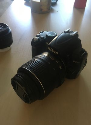 Nikon D3000 with lenses for Sale in San Diego, CA