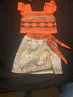 Moana set outfit for Sale in East Hartford, CT