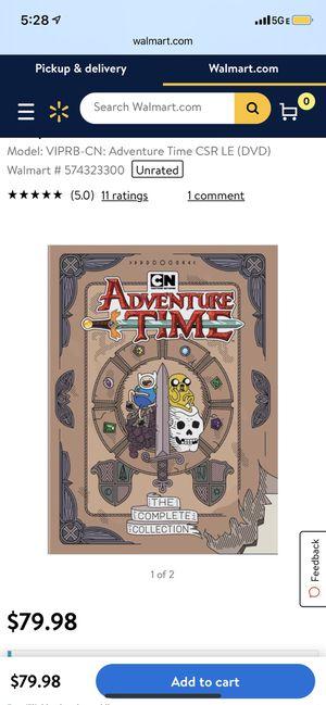 Adventure time dvd set for Sale in Tarpon Springs, FL