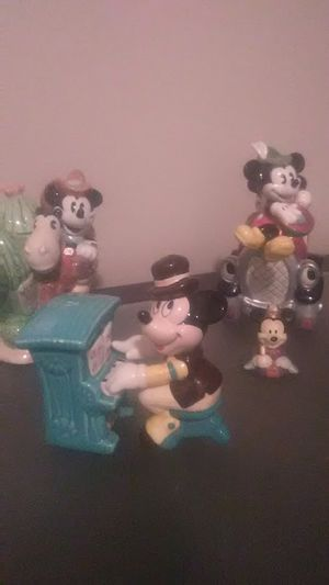 VINTAGE COLLECTABLE MICKEY MOUSE CHINA SET. OBO for Sale in Evansville, IN
