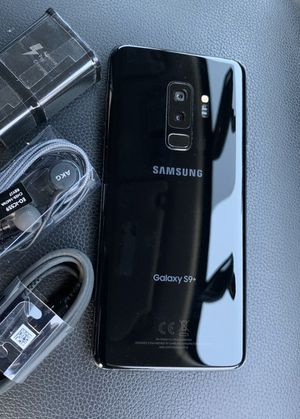 Samsung Galaxy S9 plus (S9+) - just like new, factory unlocked, clean IMEI for Sale in Springfield, VA