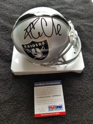 Ice Cube Signed NFL Oakland Raiders Mini Helmet w PSA/DNA COA Rap Hip Hop NWA for Sale in Hayward, CA