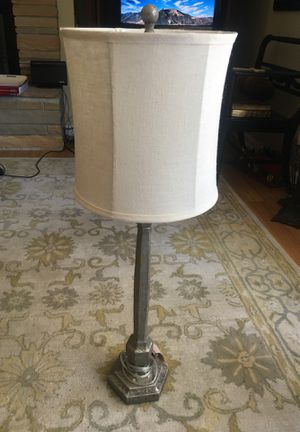Like new table lamp - 35 inches for Sale in Bloomington, IL