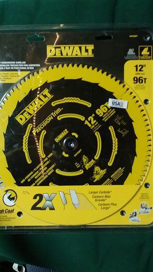 """Dewalt 12"""" 96t saw blade for Sale in Antioch, CA"""