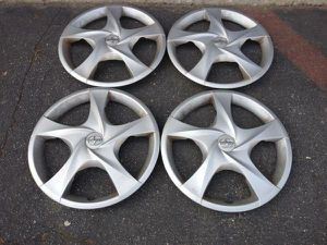 Scion 16 inch hubcaps for steel wheels set of four for Sale in Montebello, CA