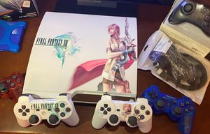 "Custom Ceramic White HD FFXIII ""Lightning"" CFW PS3 for Sale in Las Vegas, NV"