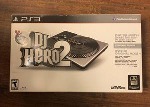 DJ Hero 2 Turntable Bundle for PS3 for Sale in Sacramento, CA