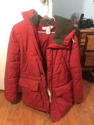 Red H&M Parka Jacket - Medium for Sale in Snellville, GA