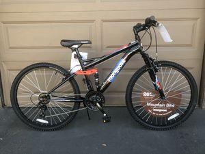 "Mongoose Men's Standoff 26"" Mountain Bike, Black/Red for Sale in Westminster, CA"