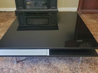 "IKEA Coffee Table, Slight Scratches And Dings, 36"" X 36"" X 12"" With Pop-out Drawers. MUST PICK UP! for Sale in Archer,  FL"