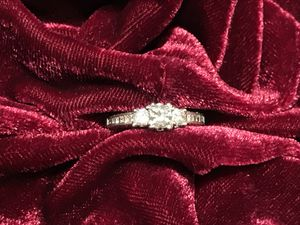 Platinum Tacori Diamond Engagement Ring Size 7 for Sale in OR, US