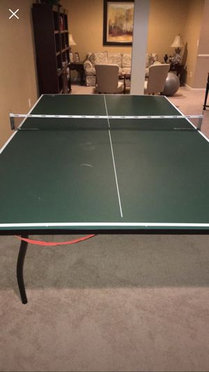 Ping pong table with all the supplies for Sale in Ashburn, VA