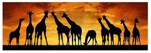 Giraffe sunset HUGE DIY Diamond painting kit full drill for Sale in Mesa, AZ