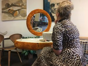 Fun Mid Century Vintage vanity. Price reduced for Sale in Denver, CO