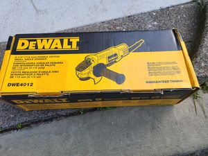 Dewalt grinder brand new for Sale in San Francisco, CA