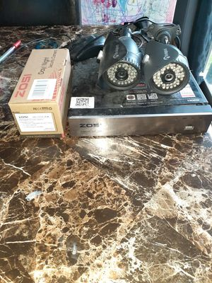 Home surveillance cameras (used) for Sale in Lewisville, TX