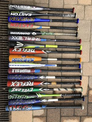 Easton and Demarini baseball bats for Sale in West Hollywood, CA
