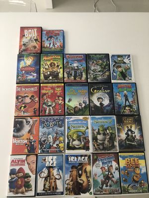 22 kids movies (Pixar, dreamworks, Disney) for Sale in Aventura, FL