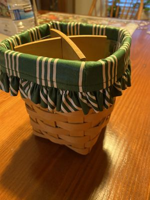 Longaberger Basket Handwoven 1999 for Sale in Lakeland, FL