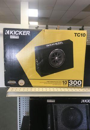 Kicker tc10 for Sale in Belle Isle, FL
