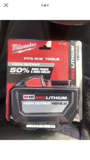 Low baller will be ignored. Milwaukee Battery (Free Delivery) for Sale in Glendale, AZ