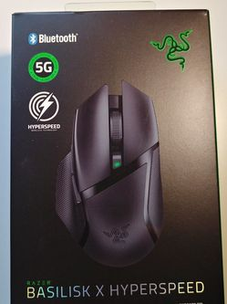 Razer Basilisk X Hyperspeed Gaming Mouse for Sale in Seattle,  WA