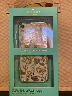 BRAND NEW KATE SPADE iPHONE 8/7/6s/6 CASE ROSE GOLD for Sale in Edgewood, WA