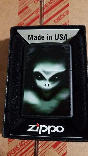 Zippo scary aliens black matte 28863 for Sale in Los Angeles, CA