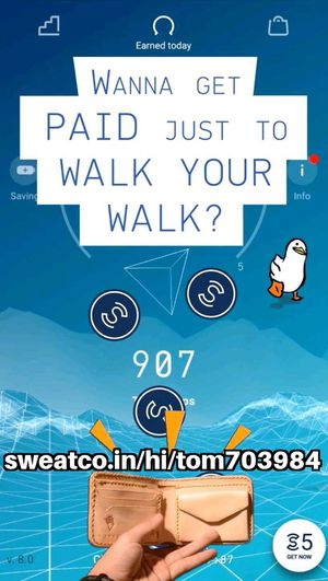 5 Free Sweatcoins Using My Link - Get Paid To Walk! for Sale in Stratford, CT