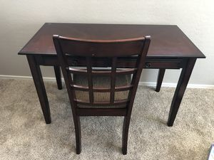Cherrywood desk and chair for Sale in Gilbert, AZ